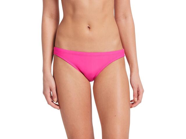 Nike Swim Solid Slip del bikini Mujer, laser fuchsia